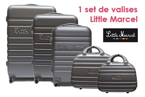 set valise little Marcel