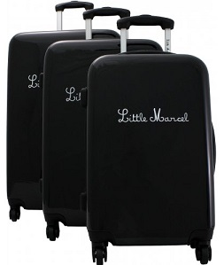 valise pas cher lot de 3 valises Little Marcel