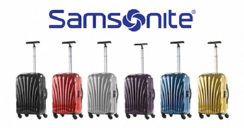 valise Samsonite pas cher