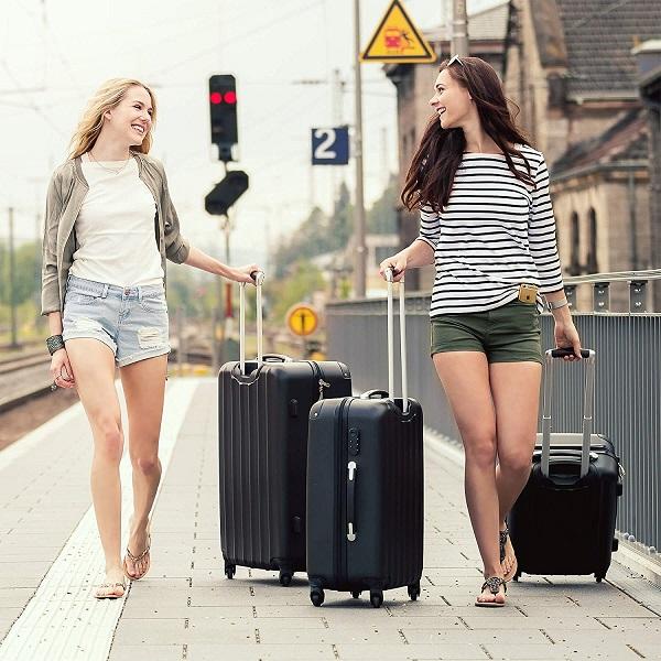 acheter grande valise pas cher set valise. Black Bedroom Furniture Sets. Home Design Ideas