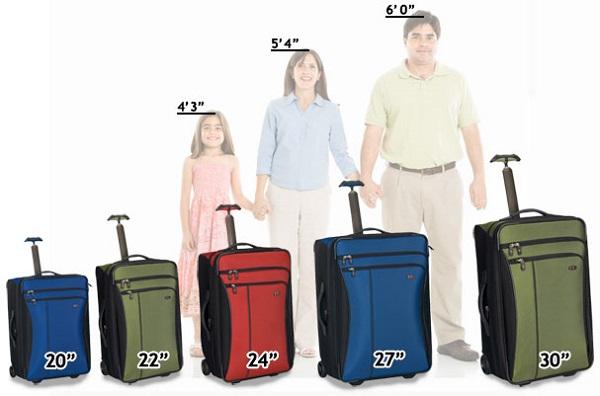 choisir et acheter une bonne taille de valise cabine pas cher