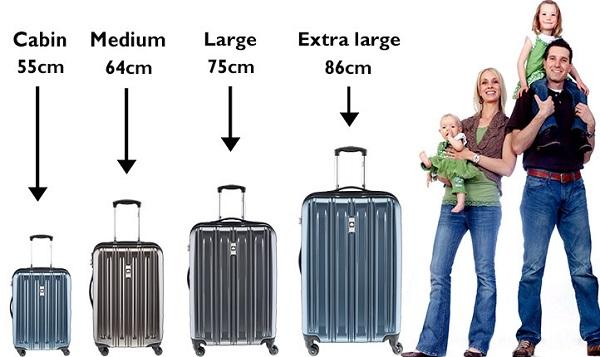 dimension et taille valise torrente pas cher
